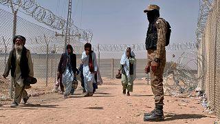 Pakistan'a kaçan Afgan sığınmacılar