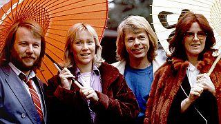 1980'de Abba'nın Japonya turnesinden bir kare.