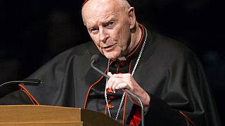 ABD Katolik Kilisesi eski Kardinali Theodore McCarrick.