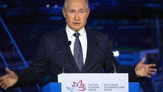 Владимир Путин на пленарной сессии Восточного экономического форума, 3 сентября 2021 г.