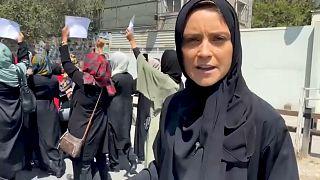 Анелиз Боржес передает из Кабула
