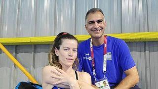 Η Ελληνίδα κολυμβήτρια Αλεξάνδρα Σταματοπούλου
