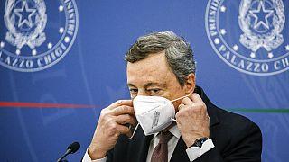 Mario Draghi olasz miniszterelnök