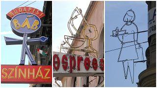 A kezdeményezők szerint a budapesti neonok a kulturális örökség részei