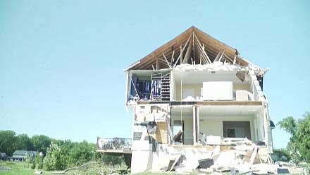 A community comes together after tornado from Ida's remnants