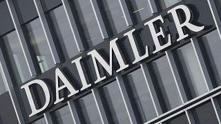 Штаб-квартира автоконцерна Daimler в Штутгарте, февраль 2021 г.