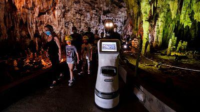 Meet Persephone, the robot tour guide