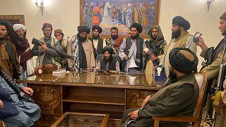 Taliban savaşçıları