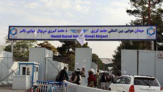 Kabil Havaalanı girişi