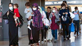ورود افغانها به آمریکا