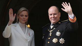 الأمير ألبير والأميرة شارلين