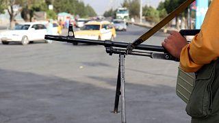 سلاح یک جنگجوی طالبان