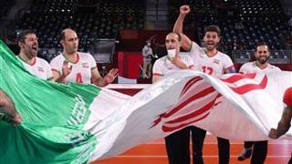 قهرمانی والیبال نشسته ایران در پارالمیک توکیو