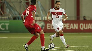 Türkiye-Cebelitarık maçı