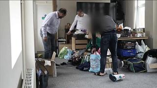 Беженцы в карантинных гостиницах