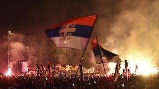 Feszültté vált a helyzet Montenegróban egy szerb egyházi esemény miatt