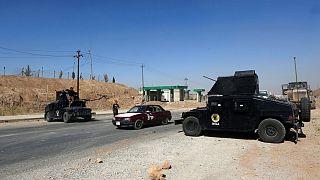 ایست بازرسی در نزدیکی کرکوک (عکس از آرشیو)