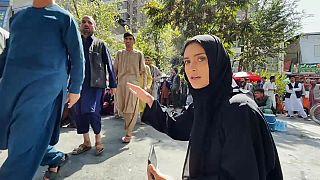 La nostra inviata Anelise Borges a Kabul