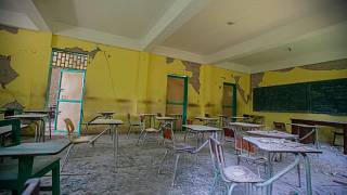 دمار واسع لحق بمدارس هايتي