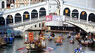 Regata storica di Venezia, foto d'archivio