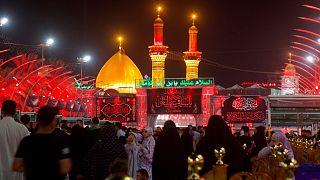 حرم امام سوم شیعیان در شهر کربلا