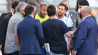 Brezilya Arjantin maçı