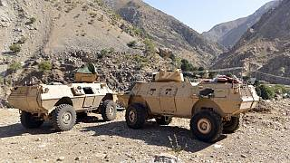 عربات مصفحة في وادي بانشير ـ أفغانستان. 2021/08/25