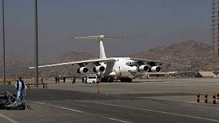 عکس آرشیوی از فرودگاه کابل