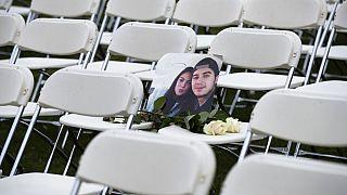 El dolor y la ira de los familiares de las víctimas del vuelo MH17 derribado por un misil en 2014