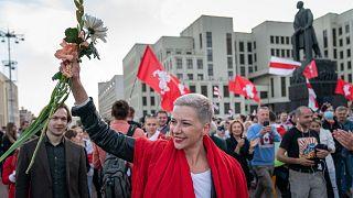 کولسنیکووا رهبر معترضان بلاروس
