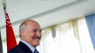 Александр Лукашенко. День голосования на выборах президента. Август 2020 года