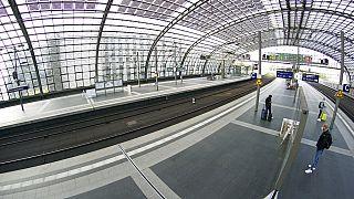 Prosigue la tercera huelga de trenes en un mes en Alemania