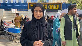 Anelise Borges, enviada especial de Euronews a Kabul (Afganistán)