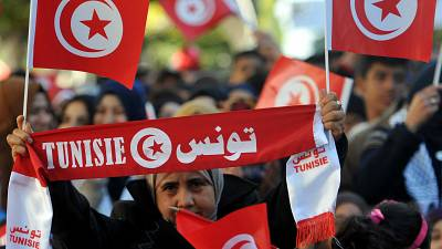 Tunisian wounded in Arab Spring burns self alive