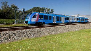 Dünyanın ilk hidrojen treni