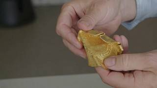 Joyas de oro de hace 1500 años descubiertas en unas ruinas danesas