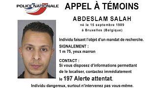 Fiche signalétique de Salah Abdeslam émise par la police française le 13 novembre 2015