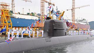 زیردریایی سه هزار تنی کره جنوبی