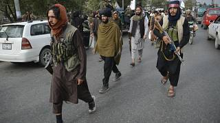 عناصر طالبان في شوارع كابول