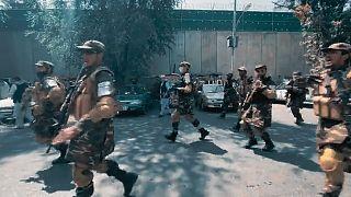 تیراندازی در تظاهرات کابل