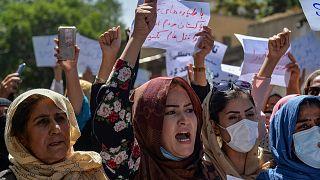 Kabil'de Pakistan karşıtı gösteri