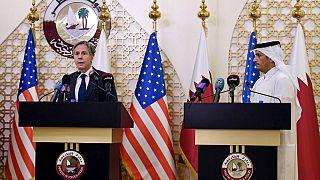 Le chef de la diplomatie américaine Antony Blinken, en visite à Doha (Qatar), le 07/09/2021