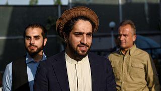 Taliban'a karşı direnen Afganistan Ulusal Direniş Cephesi'ne (AUDC- NRFA) lideri Ahmed Mesud.