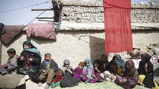 تعدادی از شهروندان افغانستان