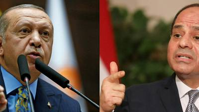 Turkey aims to improve ties with Egypt, UAE