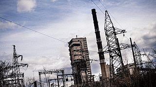 A closed coal mine near the eastern Ukrainian town of Luhansk.