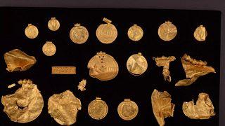 Danimarka'da keşfedilen hazine