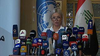 جنين هينيس-بلاسخارت، الممثلة الخاصة للأمم المتحدة في العراق