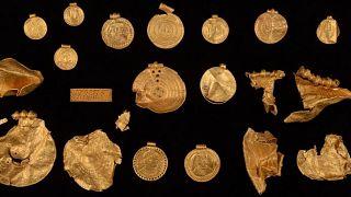 گنجینه متعلق به قرن شش میلاد در دانمارک