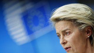 Avrupa Birliği Komisyonu Başkanı Ursula von der Leyen.